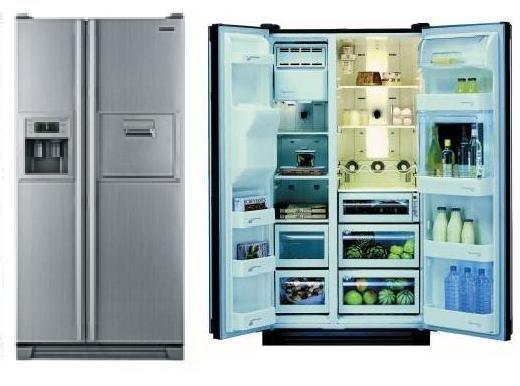 Side By Side Kühlschrank Samsung : Samsung rs bhcsp side side khlschrank mit wasserspender a